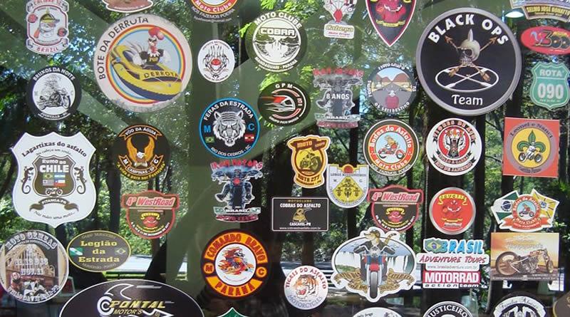 Adesivos de Moto Clubes