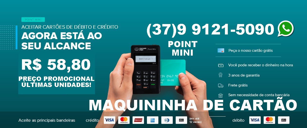Maquininha Mercado Point