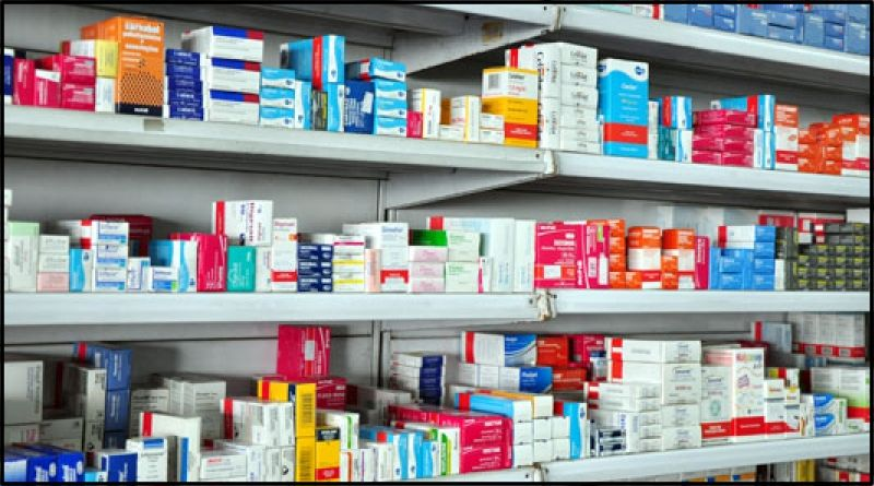 Prateleira Farmacia