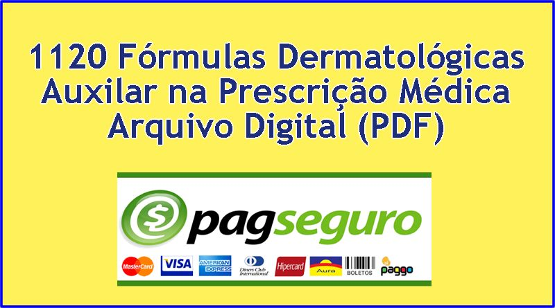 1120 Formulas Dermatológicas Prescrição Médica