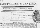 Primeiro jornal editado e impresso no Brasil