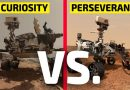 Curiosity VS. Perseverance | Qual a diferença?
