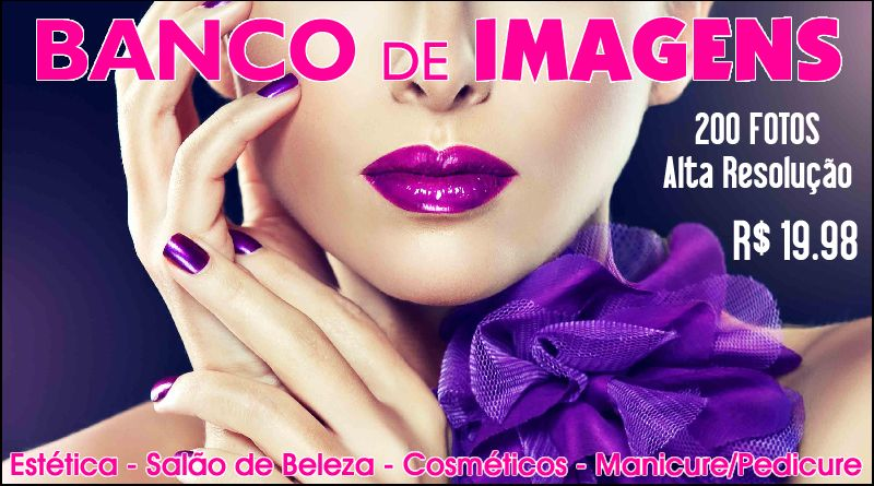 200 imagens alta resolução – Salão de Beleza – Manicure – Cosméticos – Estética